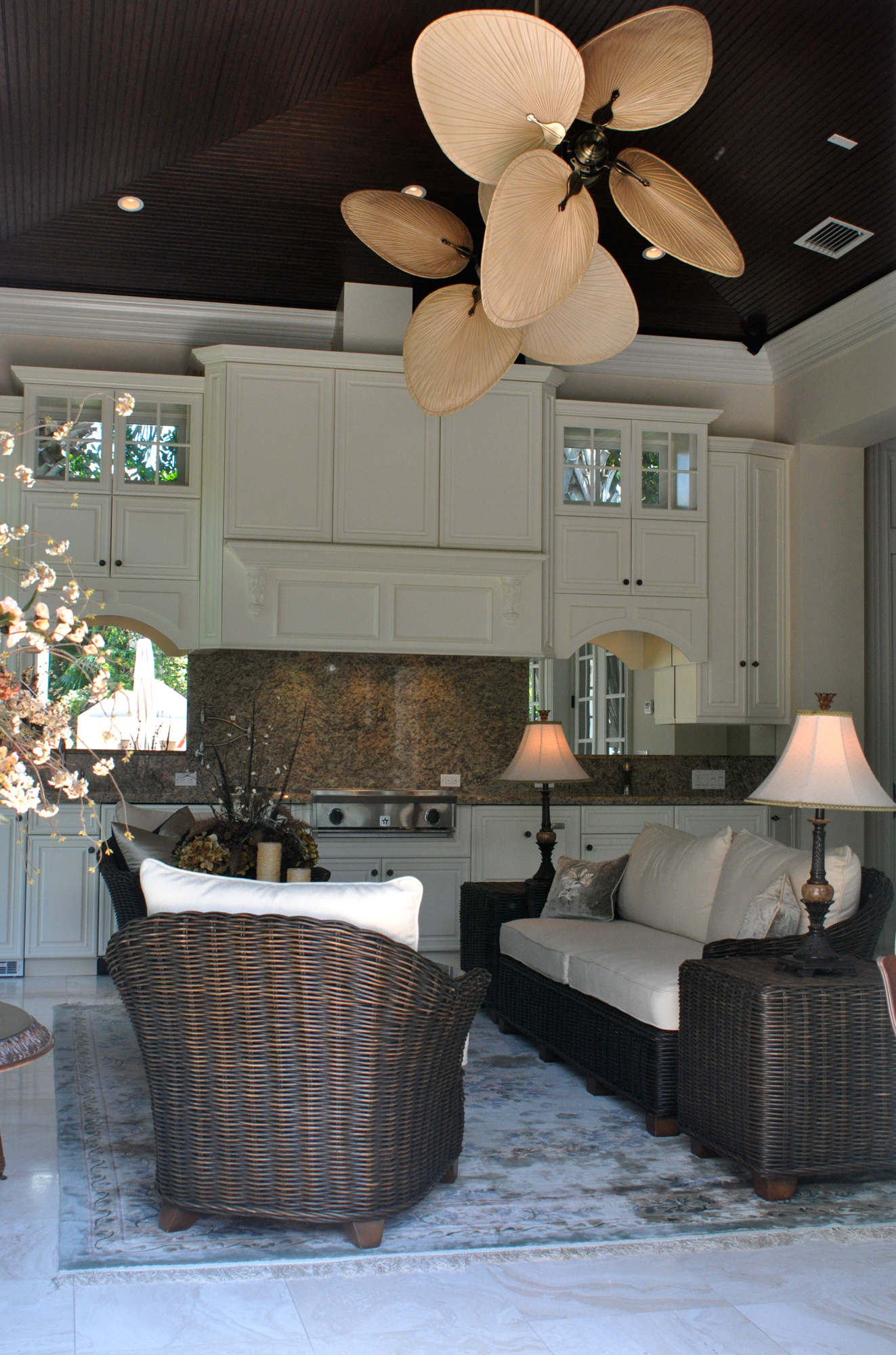 kitchen and great room in vero beach remodel
